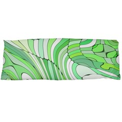 Retro Abstract Green Body Pillow Cases Dakimakura (Two Sides)