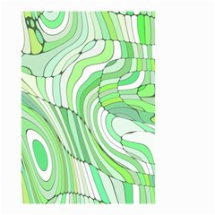 Retro Abstract Green Small Garden Flag (Two Sides)