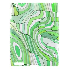 Retro Abstract Green Apple iPad 3/4 Hardshell Case