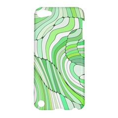 Retro Abstract Green Apple iPod Touch 5 Hardshell Case