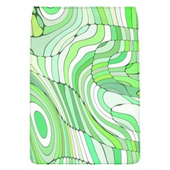Retro Abstract Green Flap Covers (S)