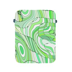 Retro Abstract Green Apple iPad 2/3/4 Protective Soft Cases