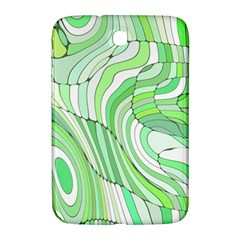 Retro Abstract Green Samsung Galaxy Note 8.0 N5100 Hardshell Case