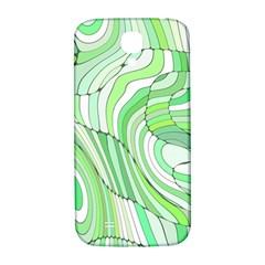 Retro Abstract Green Samsung Galaxy S4 I9500/I9505  Hardshell Back Case