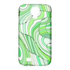 Retro Abstract Green Samsung Galaxy S4 Classic Hardshell Case (PC+Silicone)