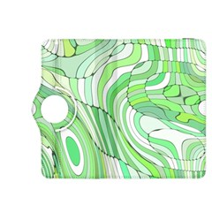 Retro Abstract Green Kindle Fire HDX 8.9  Flip 360 Case
