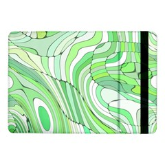 Retro Abstract Green Samsung Galaxy Tab Pro 10.1  Flip Case