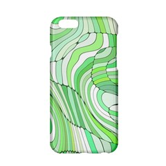 Retro Abstract Green Apple Iphone 6/6s Hardshell Case