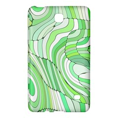 Retro Abstract Green Samsung Galaxy Tab 4 (7 ) Hardshell Case