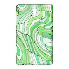 Retro Abstract Green Samsung Galaxy Tab S (8 4 ) Hardshell Case
