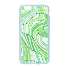 Retro Abstract Green Apple Seamless iPhone 6/6S Case (Color)