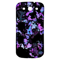 Splatter Blue Pink Samsung Galaxy S3 S III Classic Hardshell Back Case