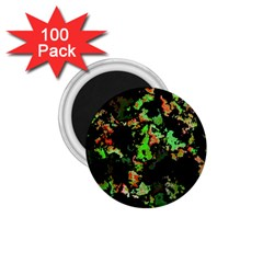 Splatter Red Green 1.75  Magnets (100 pack)