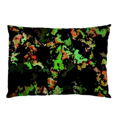 Splatter Red Green Pillow Cases (Two Sides)