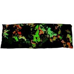 Splatter Red Green Body Pillow Cases Dakimakura (two Sides)