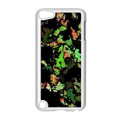 Splatter Red Green Apple iPod Touch 5 Case (White)
