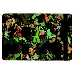 Splatter Red Green iPad Air Flip