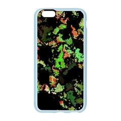 Splatter Red Green Apple Seamless iPhone 6/6S Case (Color)