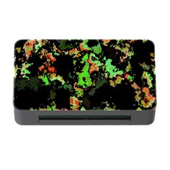 Splatter Red Green Memory Card Reader with CF