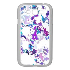 Splatter White Lilac Samsung Galaxy Grand DUOS I9082 Case (White)