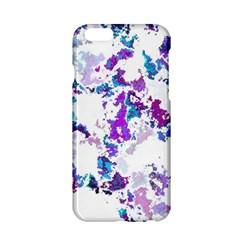 Splatter White Lilac Apple iPhone 6/6S Hardshell Case