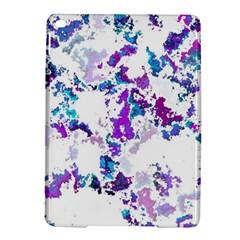 Splatter White Lilac iPad Air 2 Hardshell Cases