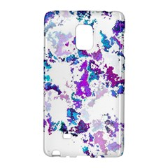 Splatter White Lilac Galaxy Note Edge