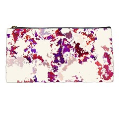 Splatter White Pencil Cases