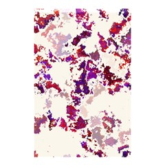 Splatter White Shower Curtain 48  X 72  (small)