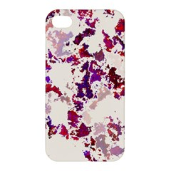 Splatter White Apple iPhone 4/4S Premium Hardshell Case