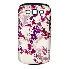 Splatter White Samsung Galaxy S III Classic Hardshell Case (PC+Silicone)