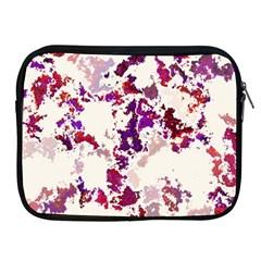 Splatter White Apple iPad 2/3/4 Zipper Cases