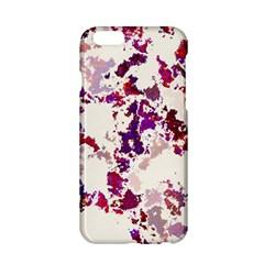 Splatter White Apple iPhone 6/6S Hardshell Case