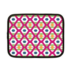 Honeycomb in rhombus pattern Netbook Case (Small)