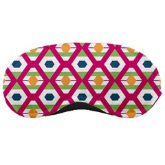 Honeycomb in rhombus pattern Sleeping Mask