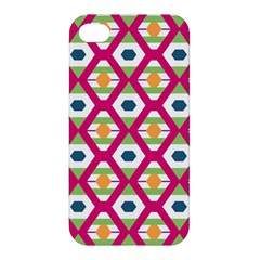 Honeycomb in rhombus pattern Apple iPhone 4/4S Hardshell Case