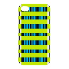 Rectangles and vertical stripes pattern Apple iPhone 4/4S Premium Hardshell Case