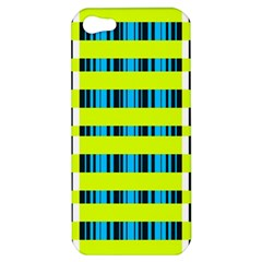 Rectangles and vertical stripes pattern Apple iPhone 5 Hardshell Case