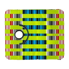 Rectangles and vertical stripes pattern Samsung Galaxy S  III Flip 360 Case