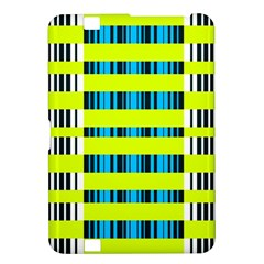 Rectangles and vertical stripes pattern Kindle Fire HD 8.9  Hardshell Case