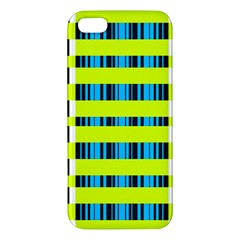 Rectangles and vertical stripes pattern Apple iPhone 5 Premium Hardshell Case