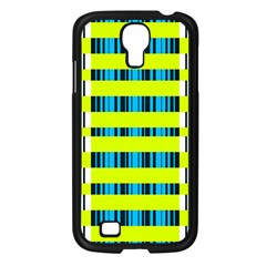 Rectangles and vertical stripes pattern Samsung Galaxy S4 I9500/ I9505 Case (Black)