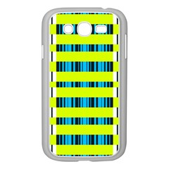 Rectangles and vertical stripes pattern Samsung Galaxy Grand DUOS I9082 Case (White)