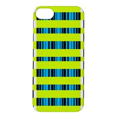 Rectangles and vertical stripes pattern Apple iPhone 5S Hardshell Case