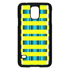 Rectangles and vertical stripes pattern	Samsung Galaxy S5 Case