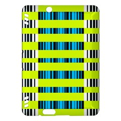 Rectangles and vertical stripes pattern	Kindle Fire HDX Hardshell Case