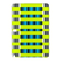 Rectangles and vertical stripes pattern	Samsung Galaxy Tab Pro 12.2 Hardshell Case