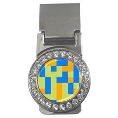 Tetris shapes Money Clip (CZ)