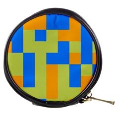 Tetris shapes Mini Makeup Bag