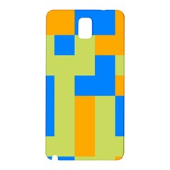 Tetris shapes Samsung Galaxy Note 3 N9005 Hardshell Back Case